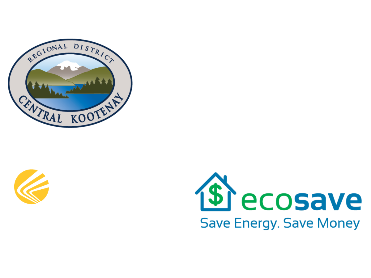 RDCK, FortisBC and EcoSave Logo's